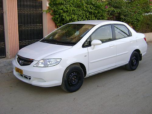 Honda City - 2006 white Image-1