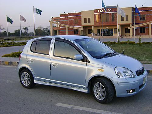 Toyota Vitz - 2004 Blue Candy Image-1
