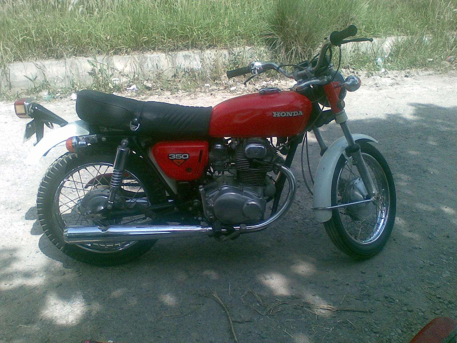Honda CB 350 - 1972 CB-350 Image-1