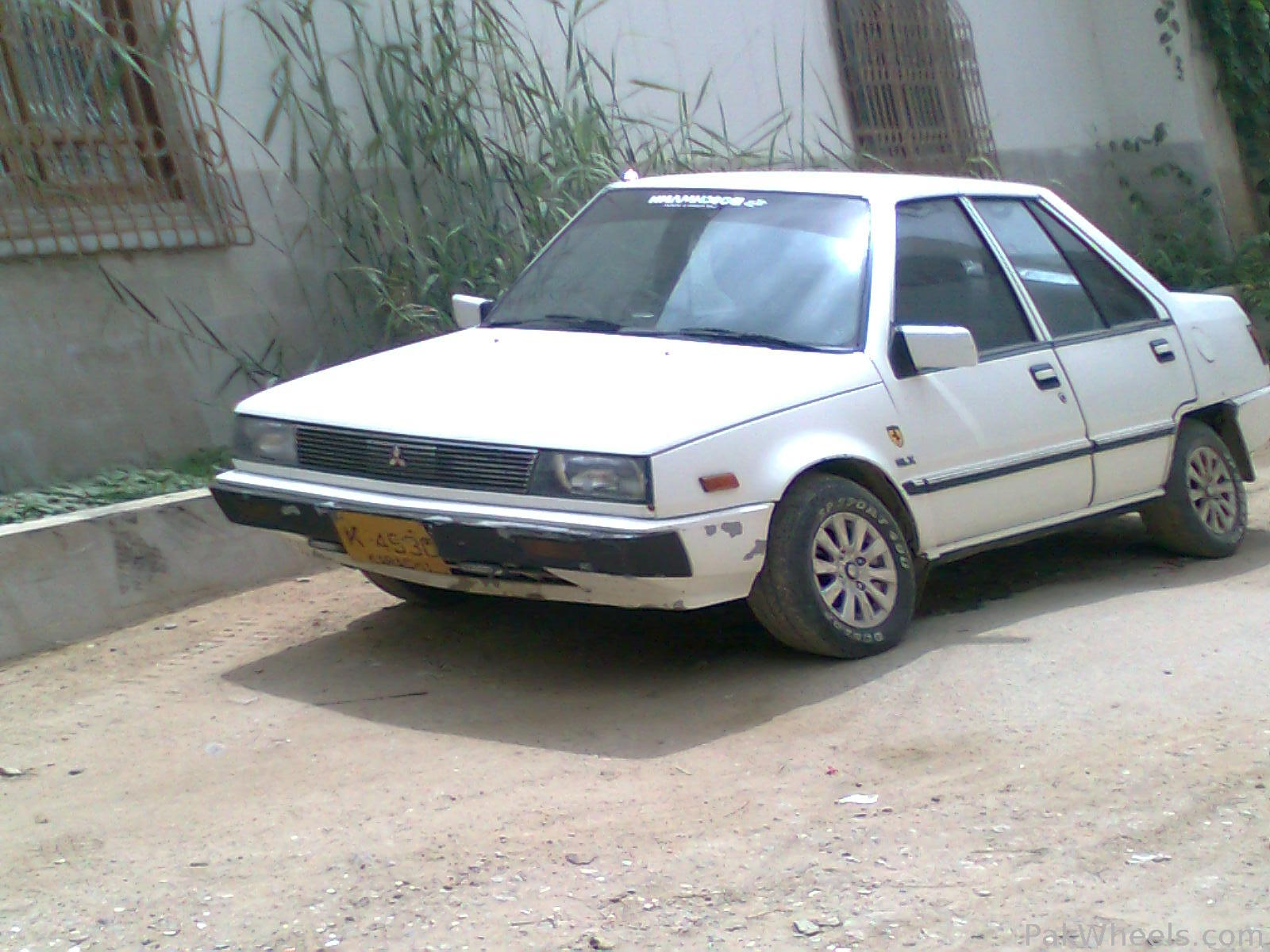 mitsubishi lancer 1987 for sale in karachi pakwheels. Black Bedroom Furniture Sets. Home Design Ideas