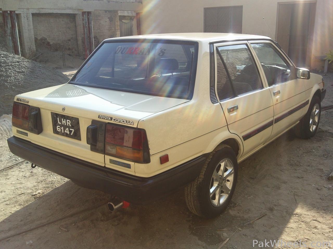 Toyota Corolla - 1987 rocky Image-2