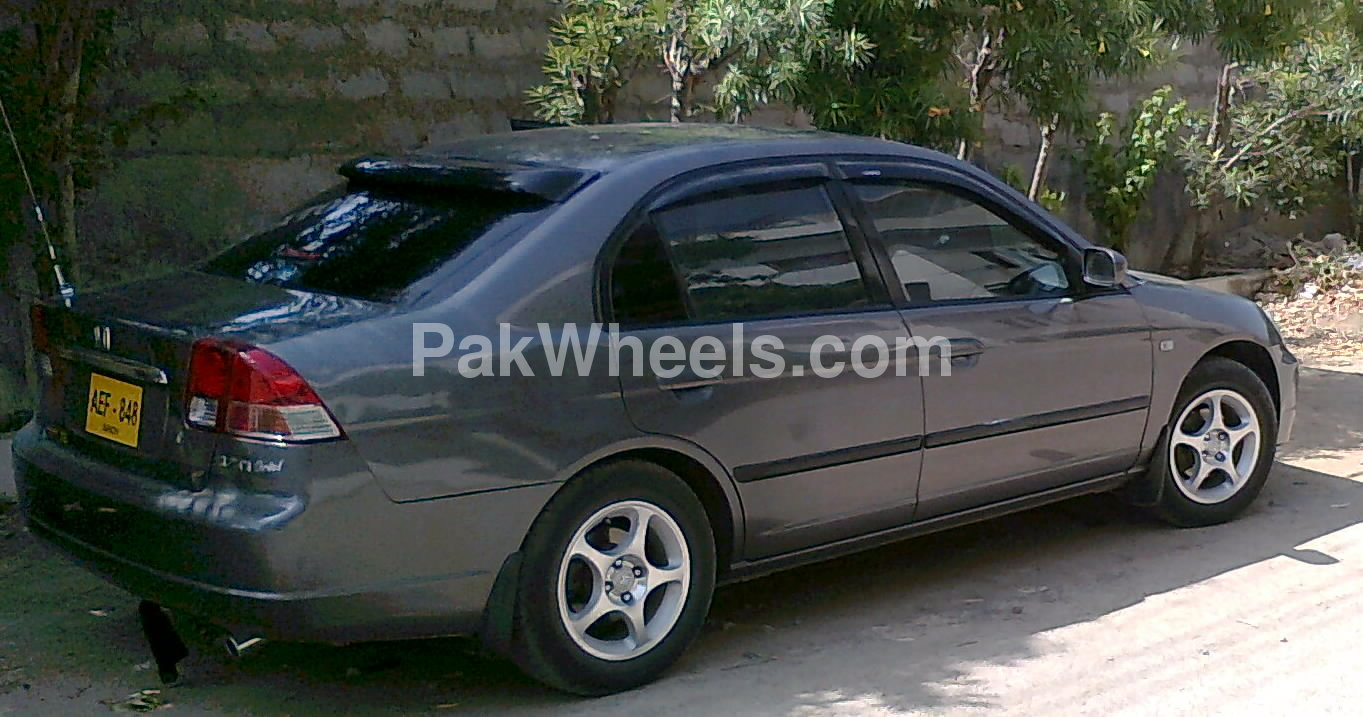 honda civic vti 1 6 2002 for sale in karachi pakwheels. Black Bedroom Furniture Sets. Home Design Ideas