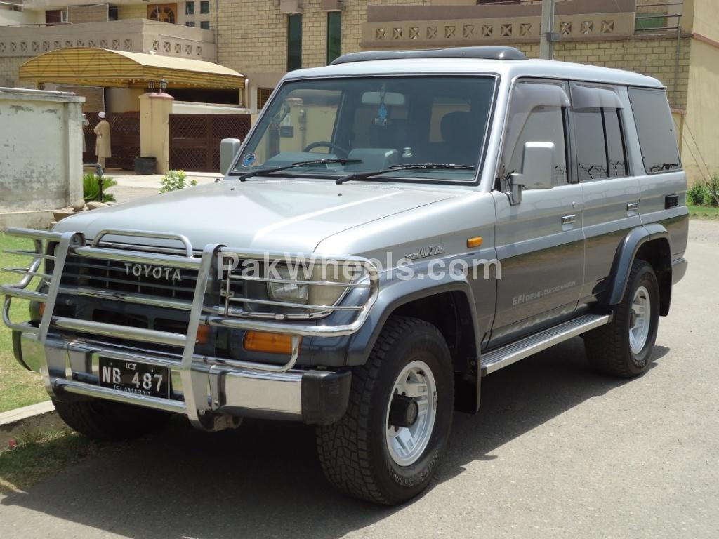 toyota land cruiser 1991 for sale in islamabad pakwheels. Black Bedroom Furniture Sets. Home Design Ideas