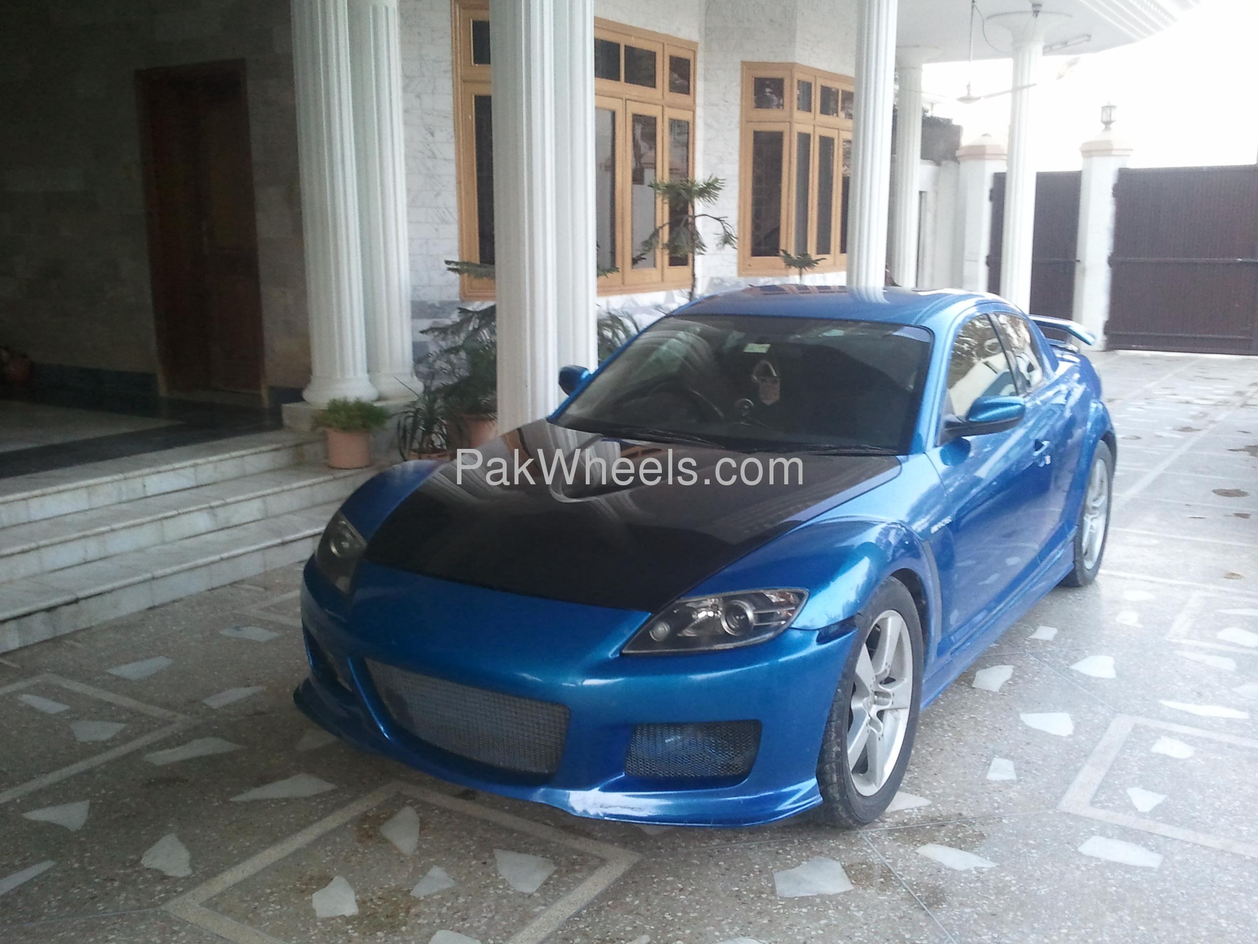 Mazda RX8 - 2003 Blue Beast Image-1