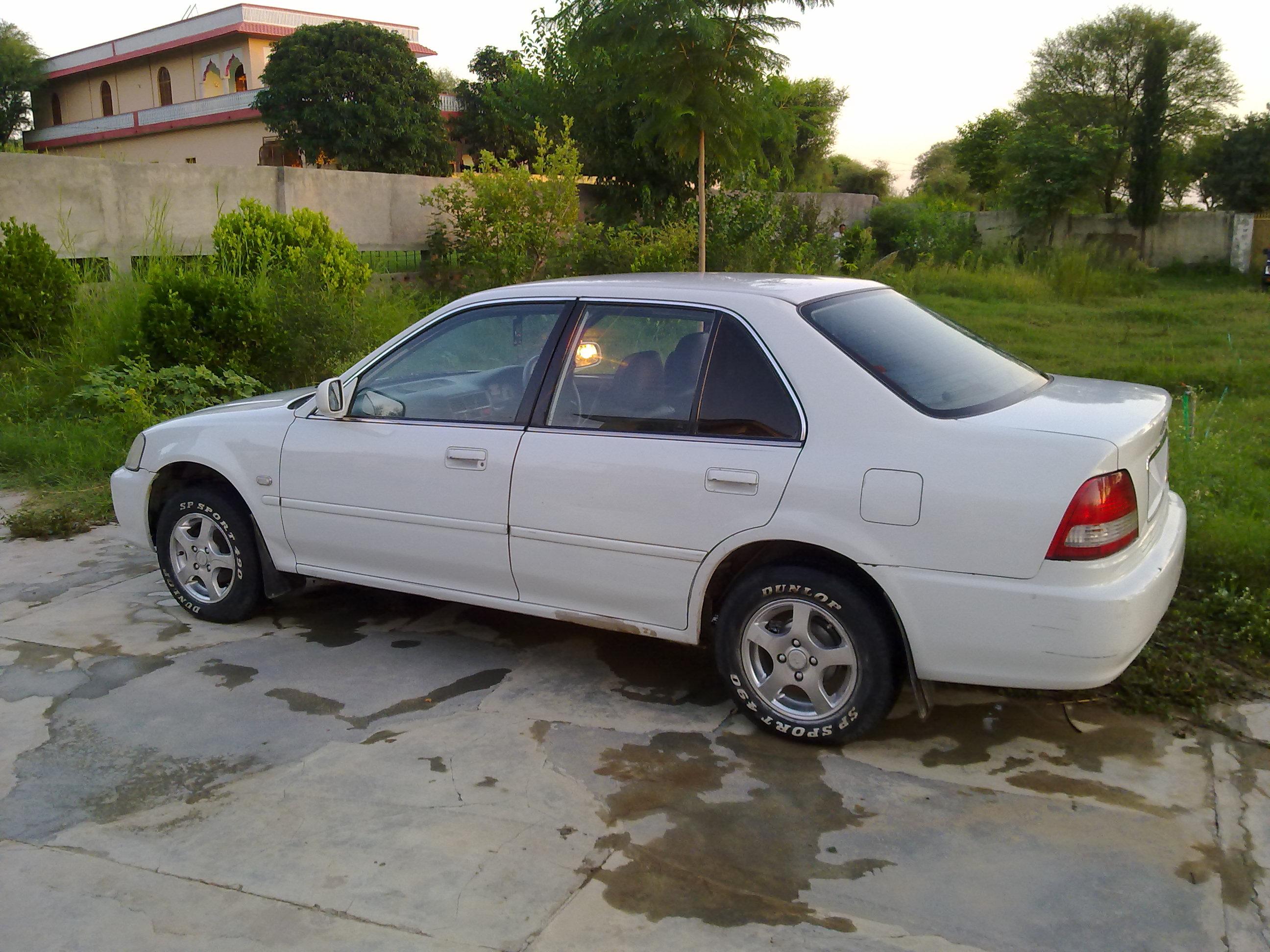 Honda City 2001 of XaryabKiani - Member Ride 16789 | PakWheels