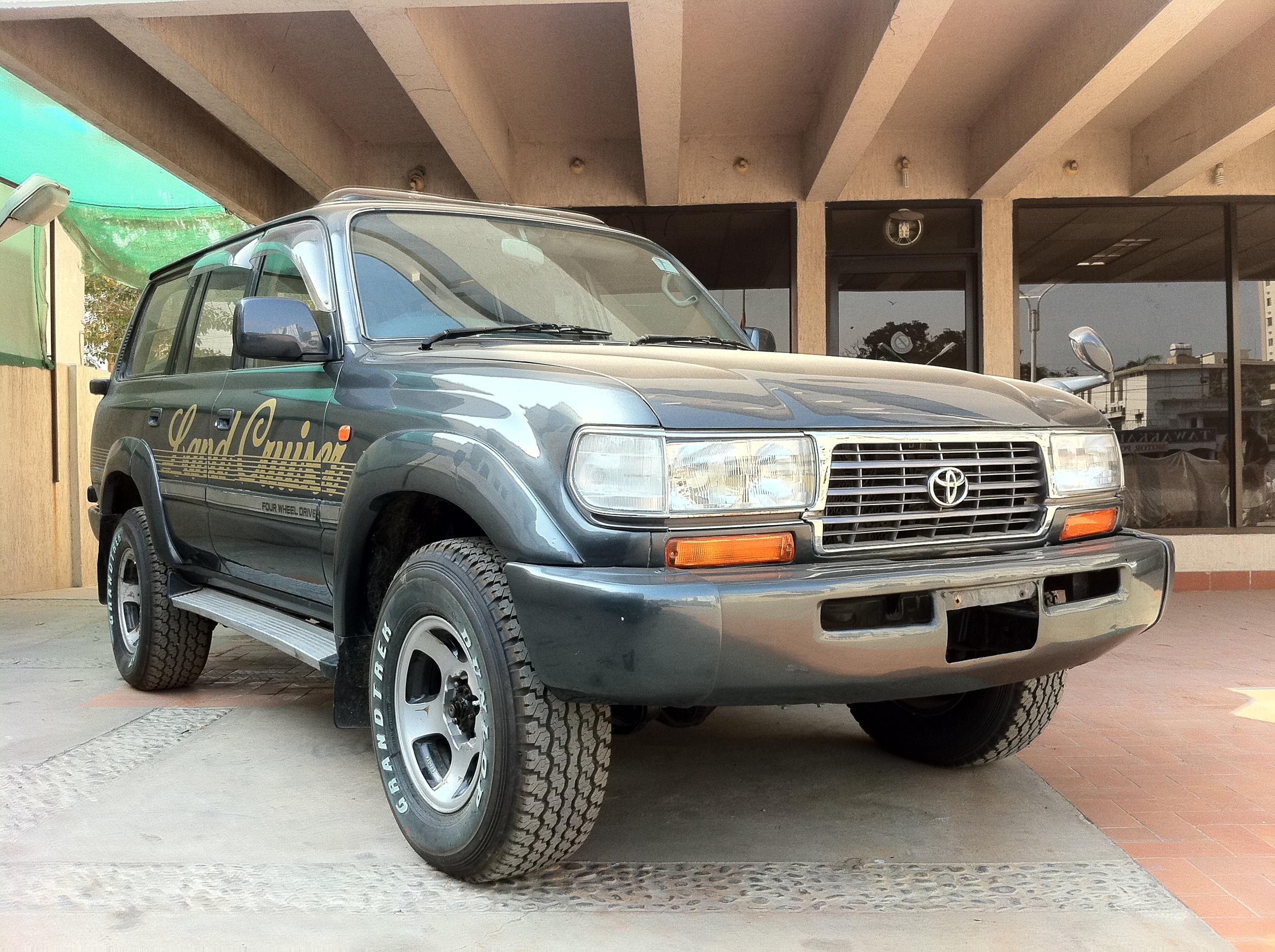 Toyota land cruiser gx 1993