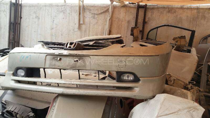 Honda City 2004 Front And Back Bumper With Genuine Japnese K Image-1