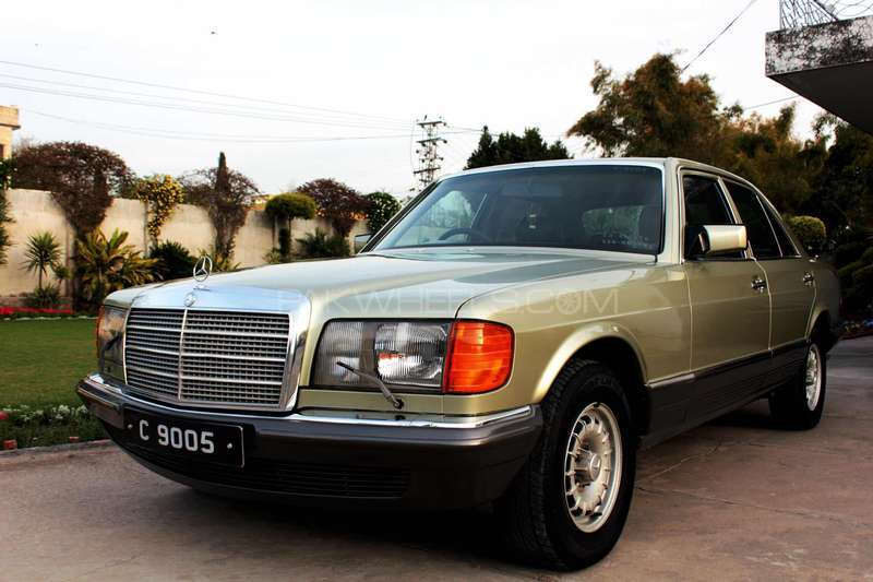 Mercedes benz s class s280 1985 for sale in rawalpindi for Mercedes benz s280 for sale