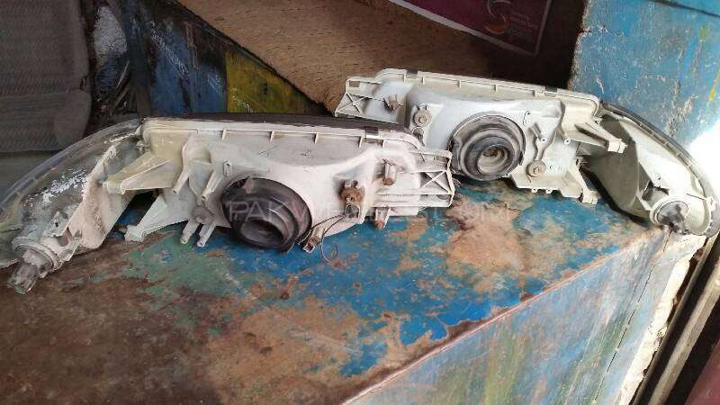 Mitsubishi Lancer 1992 Model Front Headlights For Sell  Image-1