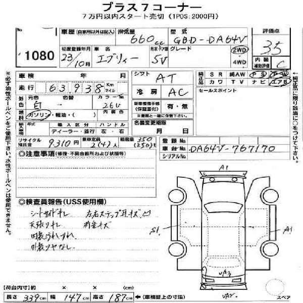 Suzuki Every GA 2010 Image-9