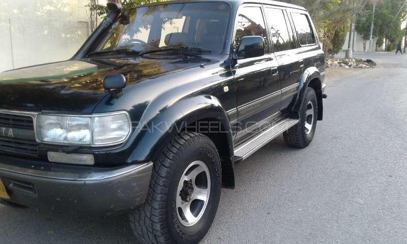 toyota land cruiser gx 4 5 1997 for sale in karachi pakwheels. Black Bedroom Furniture Sets. Home Design Ideas