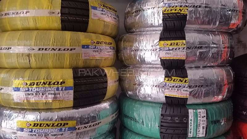 Genuine car Tyres / Tires on low rate - SUNDAY OPEN - Image-1
