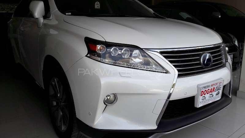 Lexus RX Series 450H 2012 Image-8