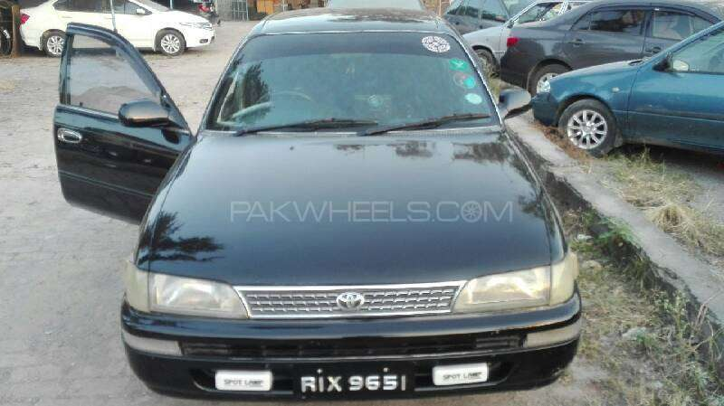 Toyota Corolla 2.0D Limited 2001 Image-2