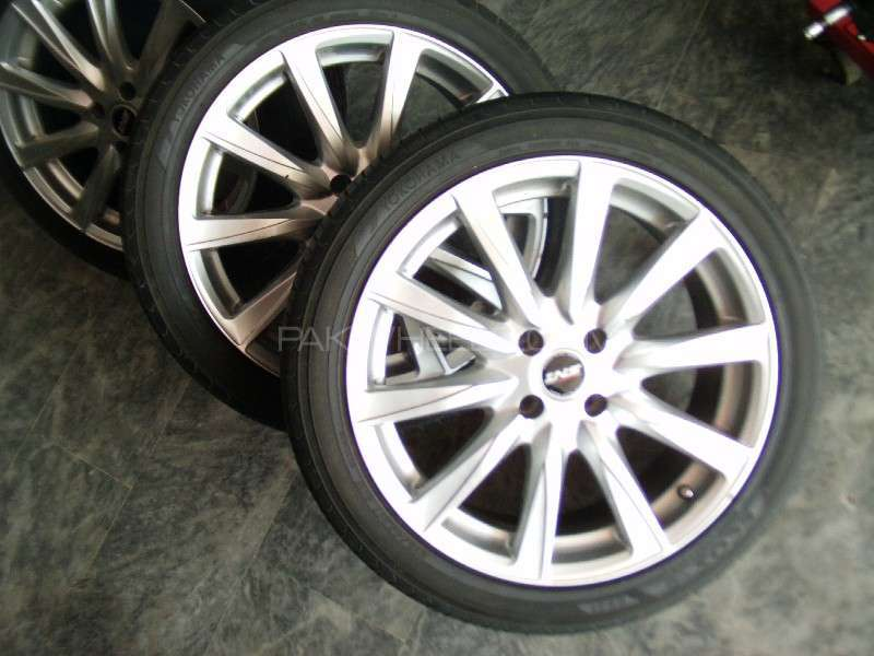 Tyres and rim 17 '' just like brand new  1 month used Image-1