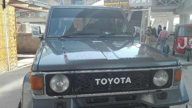 Toyota Land Cruiser 1988 Image-4