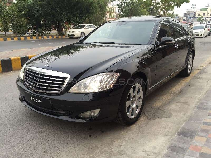 Mercedes benz s class s500 2006 for sale in lahore pakwheels for 2006 mercedes benz s550