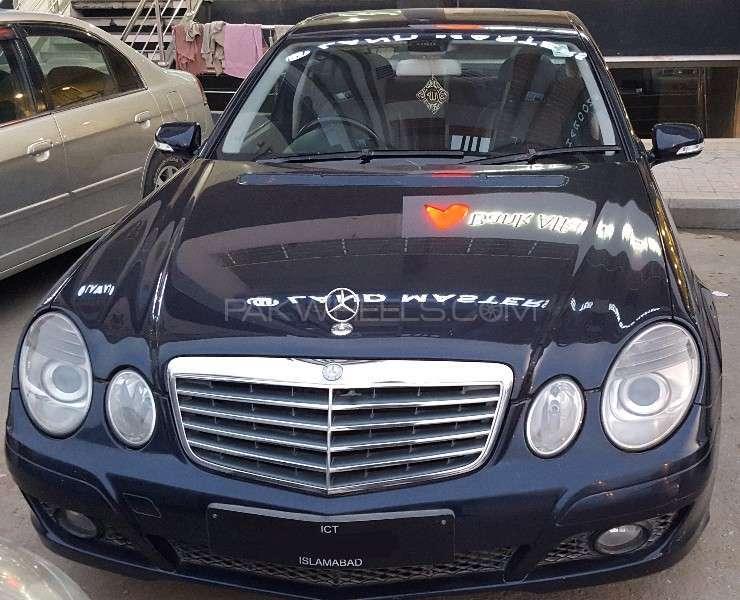 Mercedes Benz E Class E200 2007 Image-2