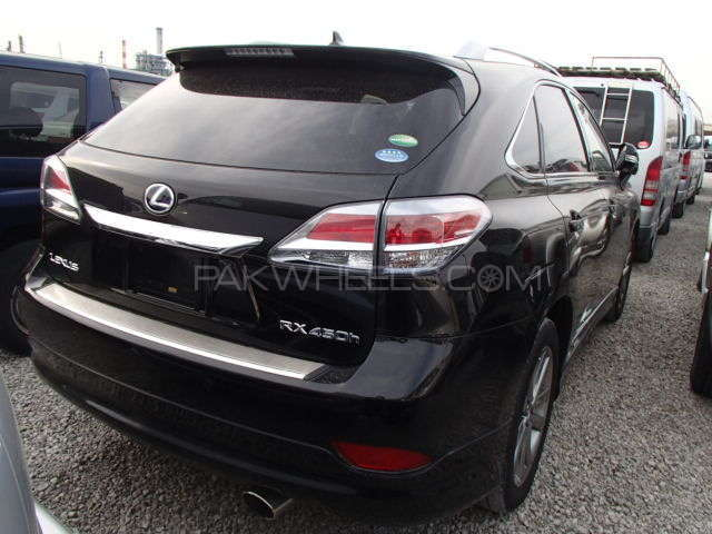 Lexus RX Series 450H 2012 Image-3
