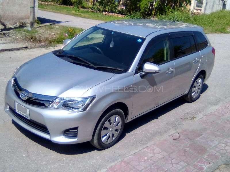 Toyota Corolla Fielder Hybrid 2014 for sale in Islamabad | PakWheels