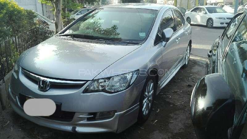 Honda Civic Hybrid 2007 Image-2