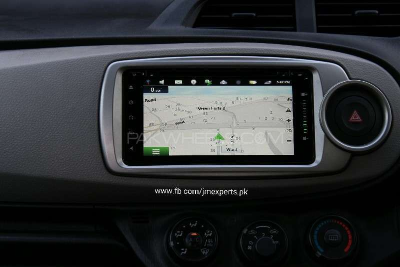 Andriod Navigation Units for Toyota Vitz Image-1