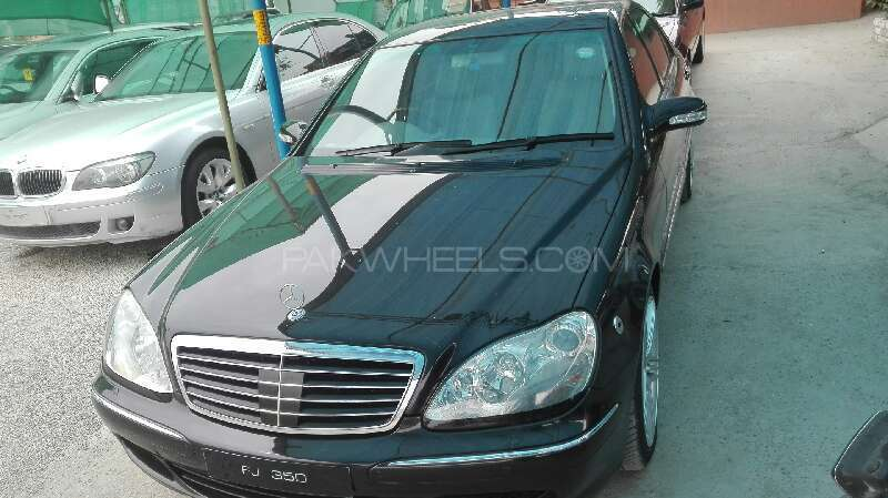 Mercedes Benz S Class S350 2004 Image-3