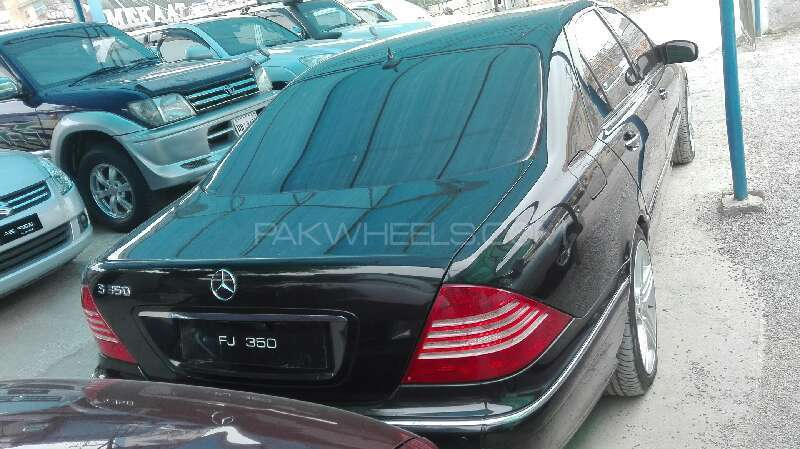 Mercedes Benz S Class S350 2004 Image-5