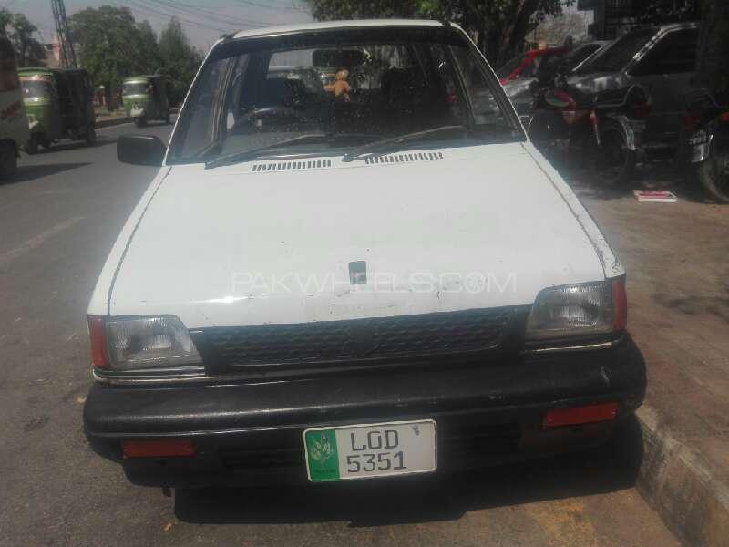 Suzuki Mehran VXR 1989 Image-1