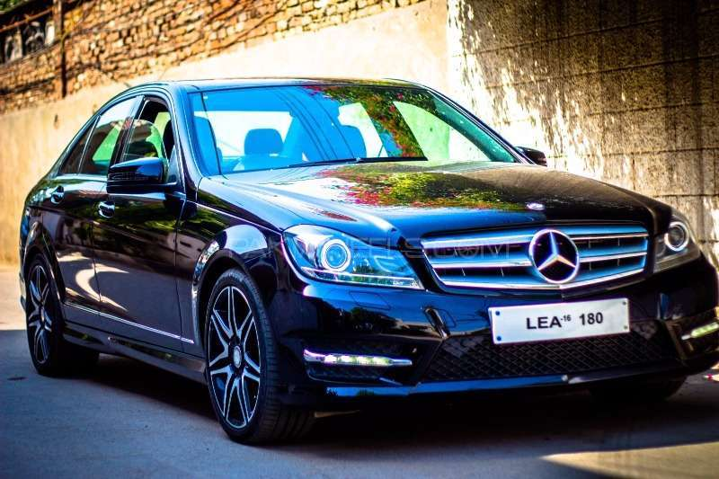 mercedes benz c class c180 2012 for sale in lahore pakwheels. Black Bedroom Furniture Sets. Home Design Ideas