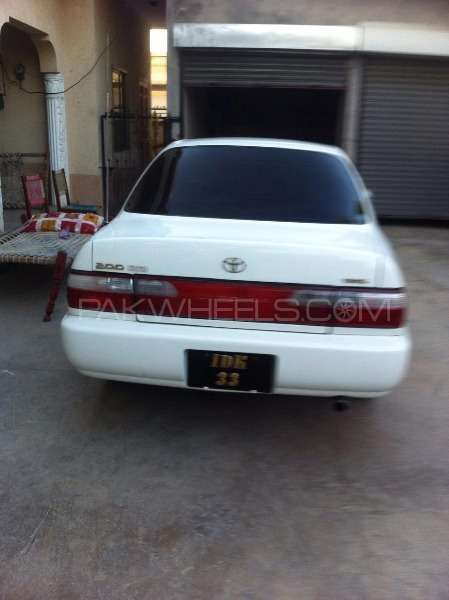 Toyota Corolla 2.0D Limited 2001 Image-4