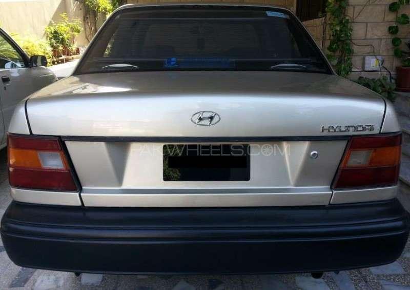 Hyundai Excel Basegrade 1992 Image-2