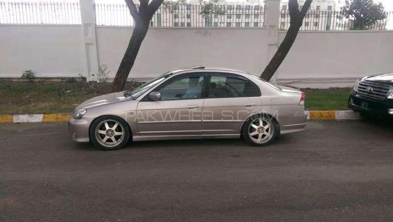 Honda Civic VTi Oriel Prosmatec 1.6 2002 Image-2