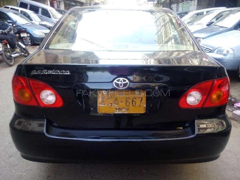 Toyota Corolla SE Saloon Automatic 2004 Image-6