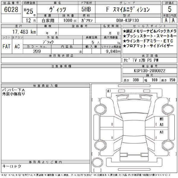 Toyota Vitz F Smile Edition 1.0 2013 Image-8
