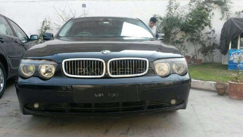 bmw 7 series 730d 2004 for sale in faisalabad pakwheels. Black Bedroom Furniture Sets. Home Design Ideas