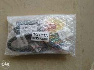 Toyota Prius,Aqua,Vitz,Corolla Auto Side Mirror Folding Kit in Lahore