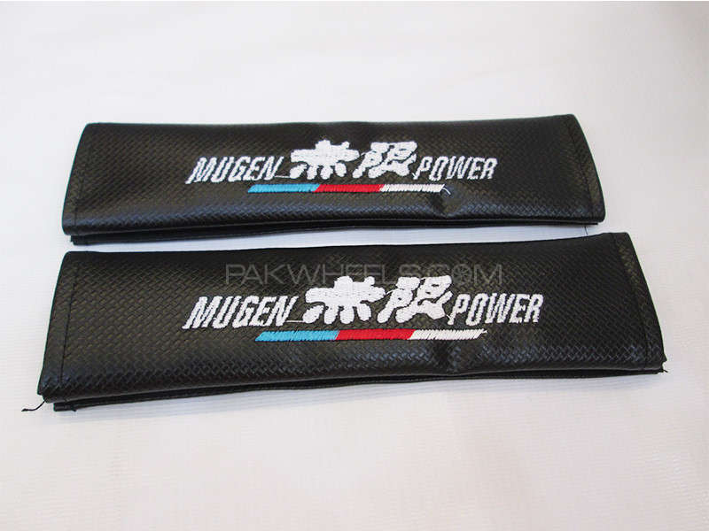 Seat Belt Cover - MUGEN POWER Image-1