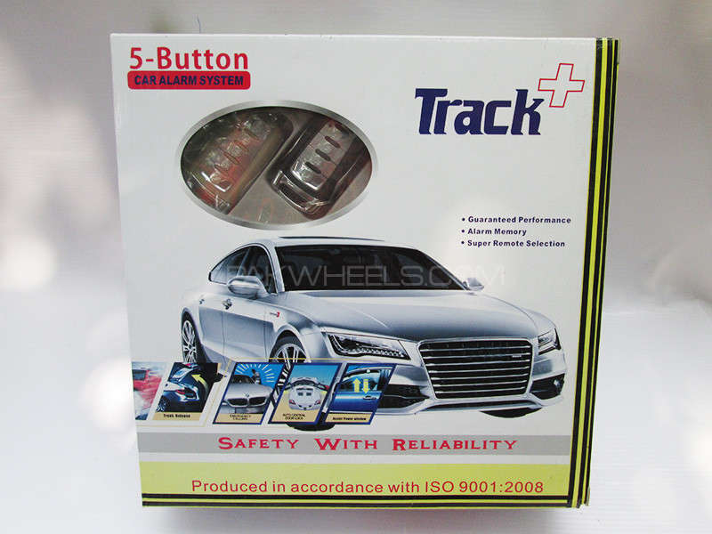 Car Alarm System - Track+ 5 Button Image-1