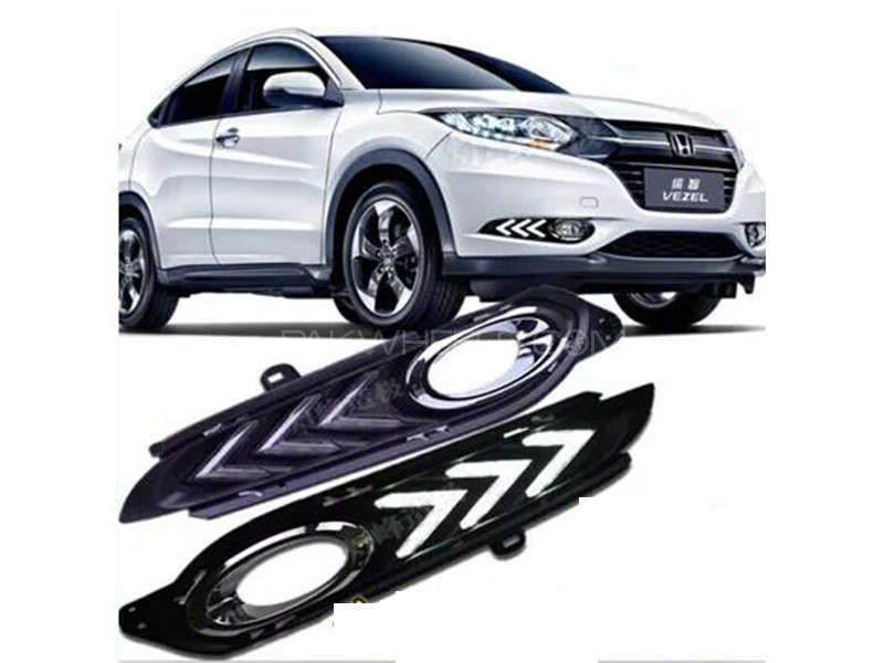 Vezel LED Fog Light Cover   Image-1