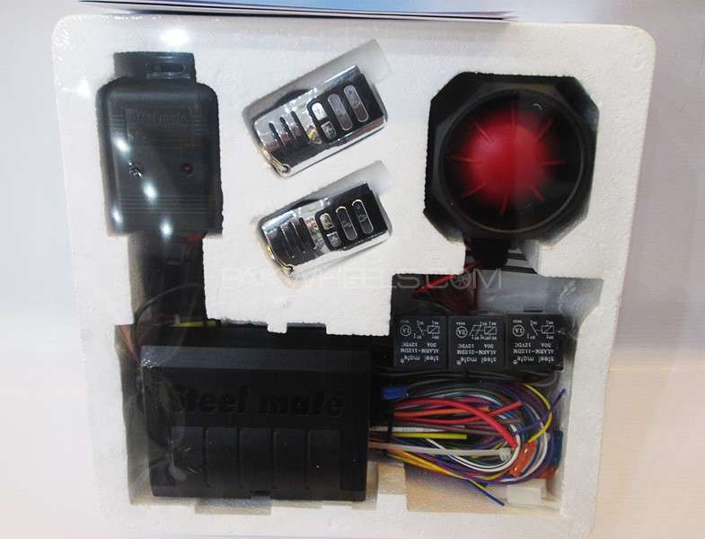 Car Alarm System Steel Mate 858 With Remote Engine Start Image-1