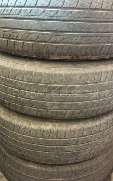 YOKOHAMA 185/60/15 dB decible set of 4 tyres for 15 inch rim Image-1