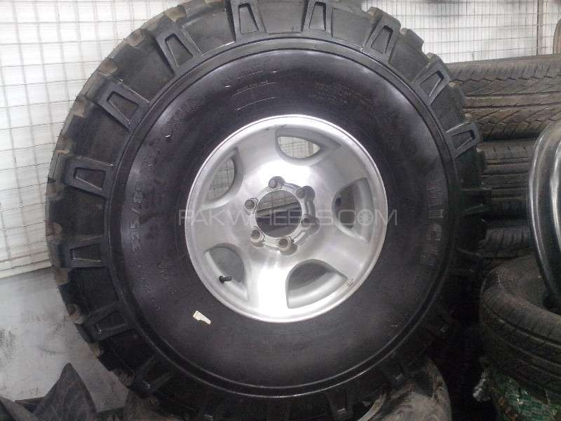 Alloy Rims For Land Cruiser and Jeeps  Image-1