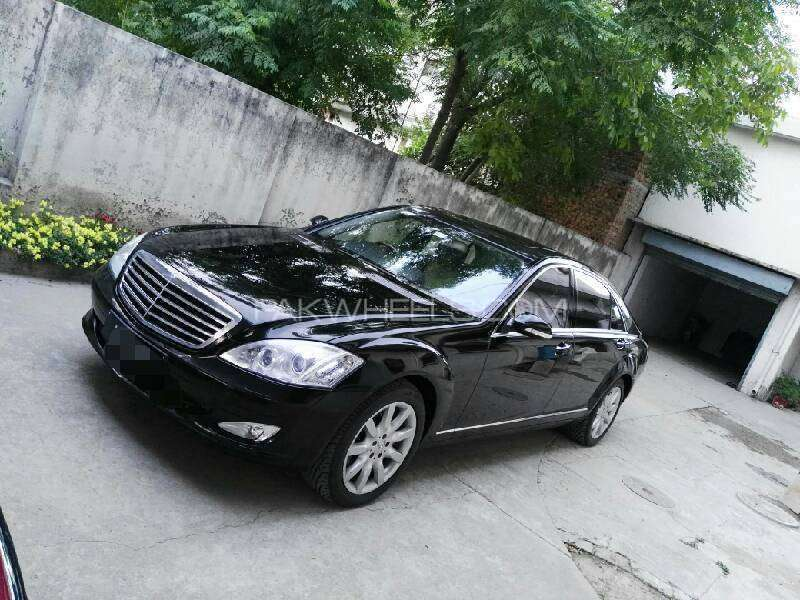 mercedes benz s class s500 2006 for sale in rawalpindi pakwheels. Black Bedroom Furniture Sets. Home Design Ideas