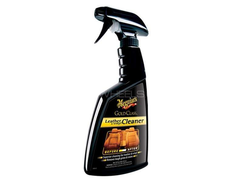 Meguiar's Gold Class Leather and Vinyl Cleaner 16oz - G18516 Image-1