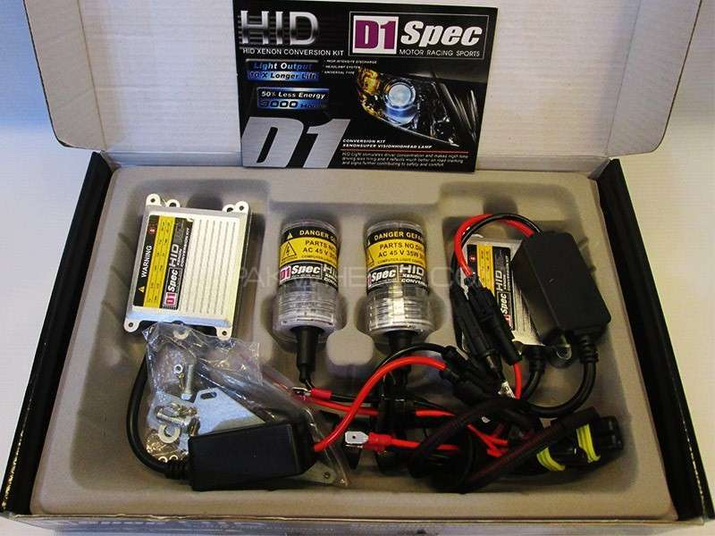 D1 Spec HID Lights 35W - H11 Image-1