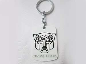 Transformer Key Chain - Silver in Lahore