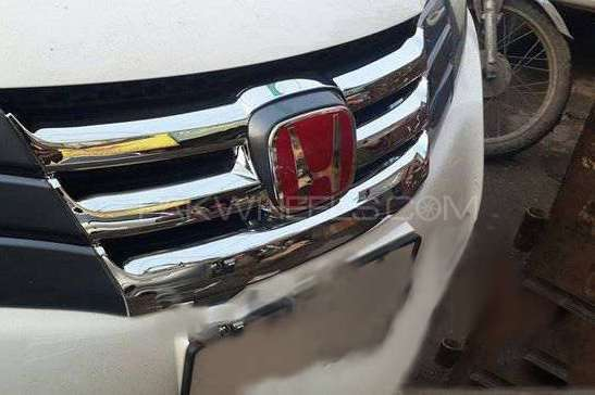 Honda City 2010 Electro Chrome Finish Grille Image-1
