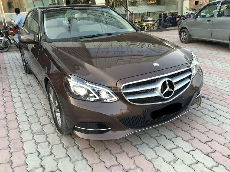 Mercedes benz e class e300 2016 for sale in lahore pakwheels for Mercedes benz e class 2016 for sale