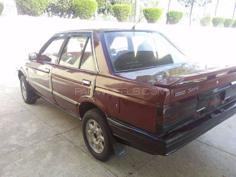 Nissan Sunny EX Saloon 1.3 (CNG) 1986 Image-1
